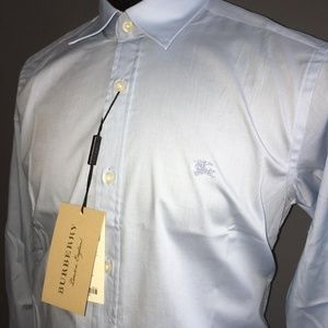 BURBERRY LONDON ENGLAND MEN BUTTON DOWN SHIRT